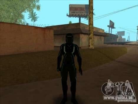 Un personnage du jeu Tron : Evolution pour GTA San Andreas quatrième écran