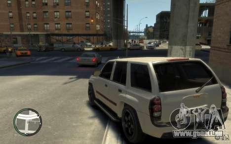 Chevrolet TrailBlazer v.1 für GTA 4 hinten links Ansicht