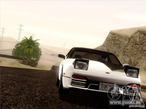 Nissan 240SX S13 - Stock pour GTA San Andreas salon