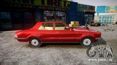 Ford Taunus für GTA 4 Rückansicht