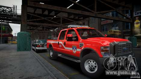 Ford Chief F250 pour GTA 4