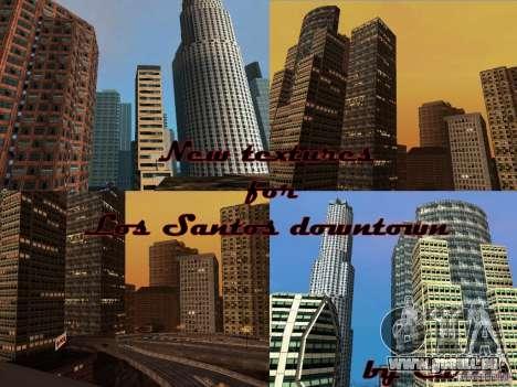 Neue Downtown Wolkenkratzer Textur für GTA San Andreas fünften Screenshot