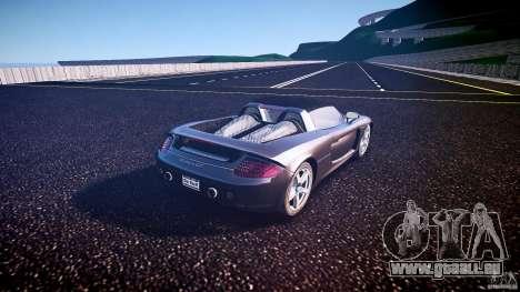 Porsche Carrera GT v.2.5 pour GTA 4 Vue arrière de la gauche