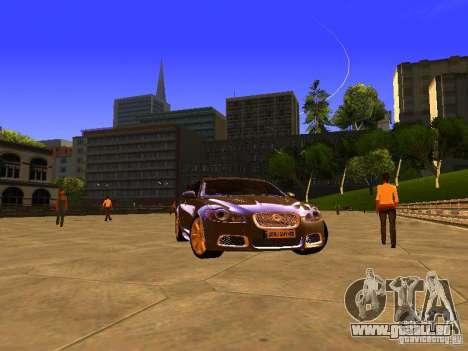 Jaguar XFR 2011 für GTA San Andreas rechten Ansicht