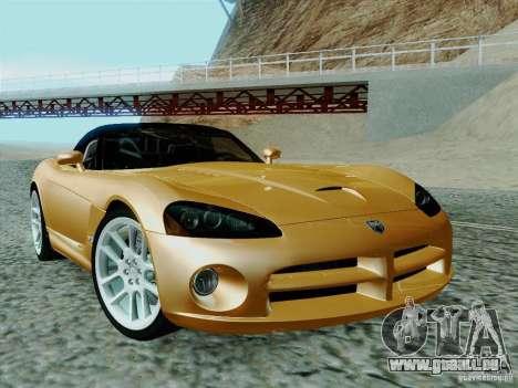 Dodge Viper SRT-10 Roadster pour GTA San Andreas vue arrière