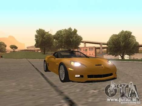 Chevrolet Corvette Z06 für GTA San Andreas linke Ansicht