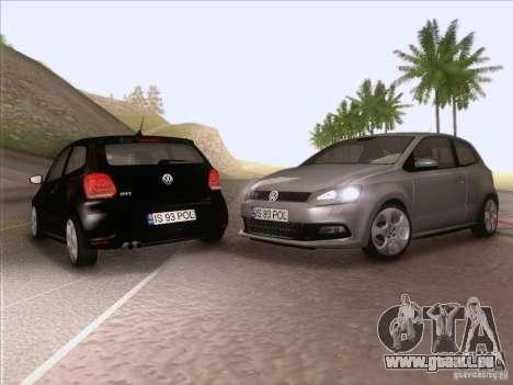 Volkswagen Polo GTI 2011 pour GTA San Andreas vue de côté