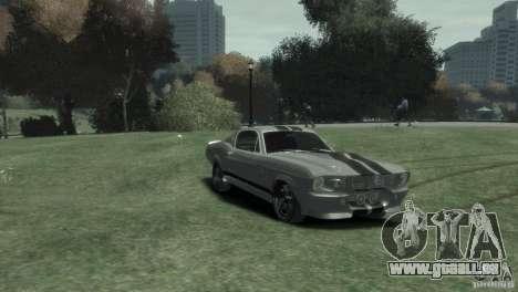 Ford Shelby GT500 Eleanor pour GTA 4 est un droit