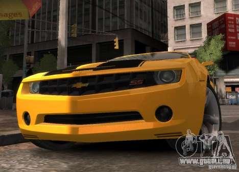Chevrolet Camaro concept 2007 für GTA 4 rechte Ansicht