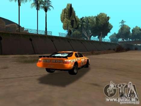 Toyota Camry Nascar Edition für GTA San Andreas rechten Ansicht