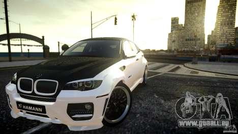 BMW X 6 Hamann pour GTA 4