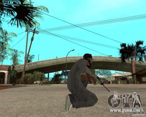 AUG HBAR mit mit einem Auge für GTA San Andreas dritten Screenshot