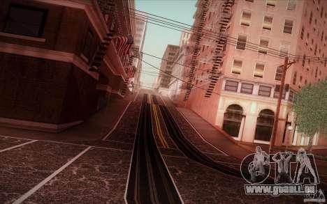 New roads San Fierro pour GTA San Andreas quatrième écran