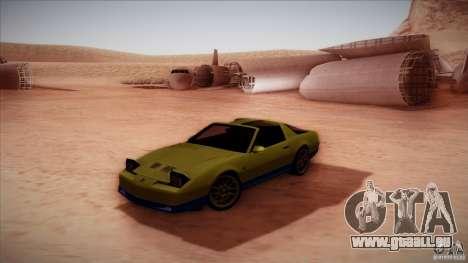 Pontiac Firebird Trans Am pour GTA San Andreas