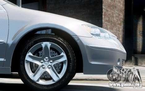 Acura RL 2006 für GTA 4 Rückansicht