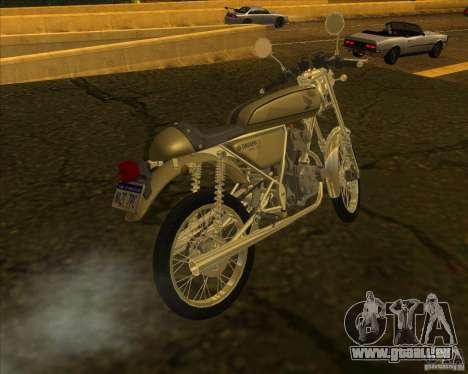 Honda Dream 50 pour GTA San Andreas laissé vue