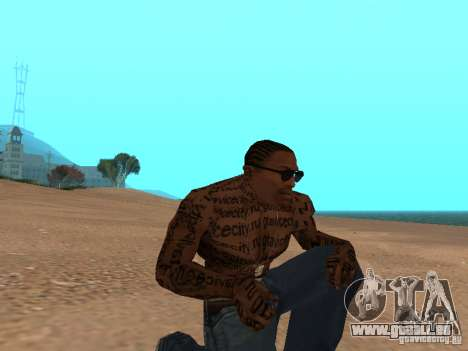 Tattoo Mod by shama123 für GTA San Andreas zweiten Screenshot