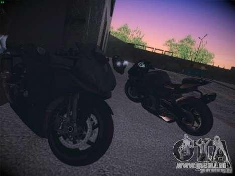 Aprilia RSV4 pour GTA San Andreas vue de droite