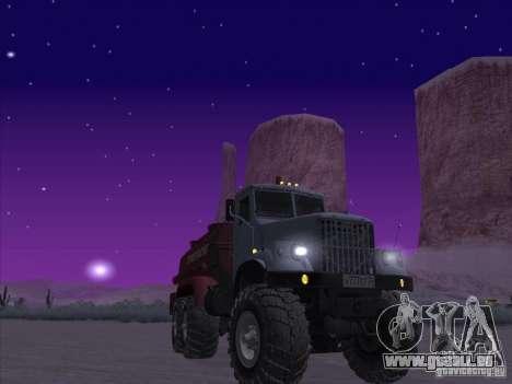 KrAZ-255 Kraftstoff-LKW für GTA San Andreas
