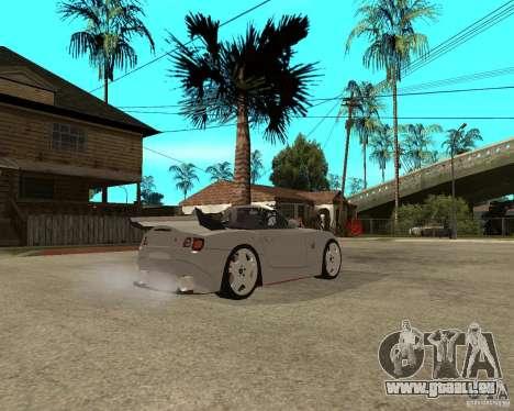 BMW Z4 Supreme Pimp TUNING volume II pour GTA San Andreas vue de droite