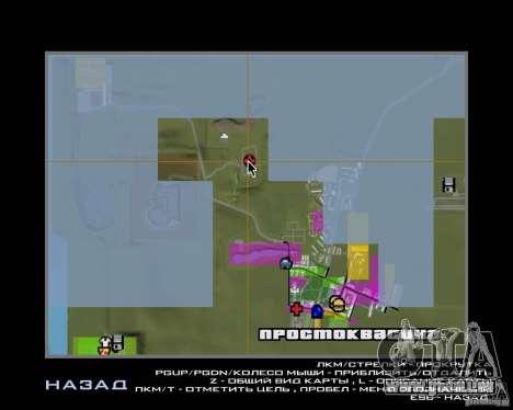 Ein Prostokvasino für die CD für GTA San Andreas siebten Screenshot