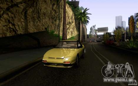 Nissan 180SX Kouki für GTA San Andreas obere Ansicht