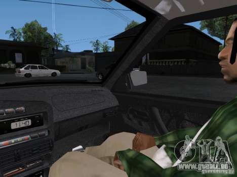 VAZ 2115 pour GTA San Andreas vue de côté