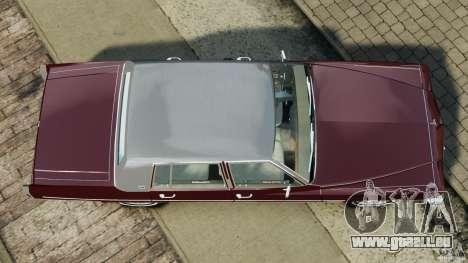 Cadillac Fleetwood Brougham Delegance 1986 pour GTA 4 Vue arrière