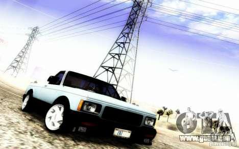 GMC Syclone Stock pour GTA San Andreas vue de côté