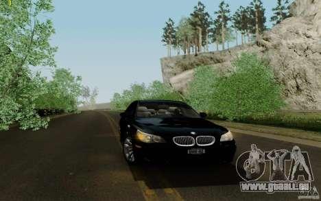 BMW M5 2009 für GTA San Andreas Innenansicht