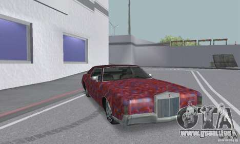 Lincoln Continental Mark IV 1972 pour GTA San Andreas roue
