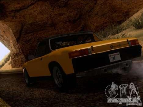 Porsche 914-6 pour GTA San Andreas laissé vue