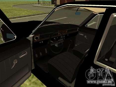 Volga GAZ-24 01 pour GTA San Andreas vue arrière