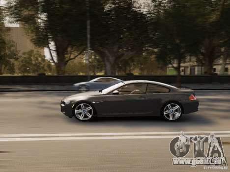 BMW M6 2010 für GTA 4 Innenansicht
