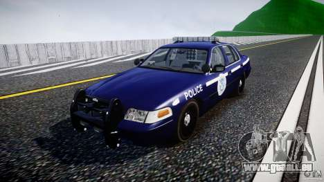 Ford Crown Victoria Homeland Security [ELS] pour GTA 4
