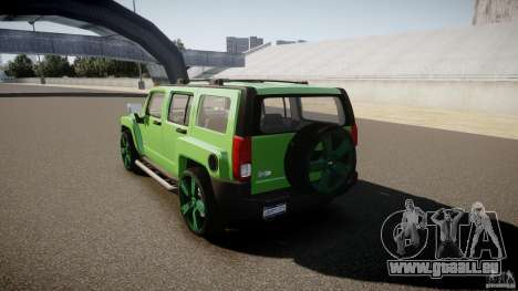 Hummer H3 für GTA 4 hinten links Ansicht