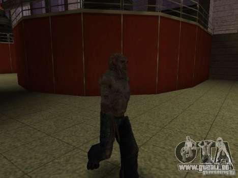 Contrôleur de S.T.A.L.K.E.R. pour GTA San Andreas troisième écran