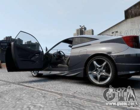 Toyota Celica pour GTA 4 Vue arrière de la gauche