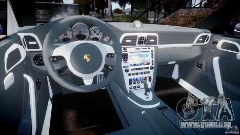 Porsche 911 (997) Turbo v1.1 [EPM] pour GTA 4 Vue arrière