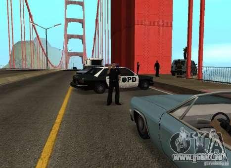 Ein Selbstmordattentäter auf der Brücke für GTA San Andreas fünften Screenshot
