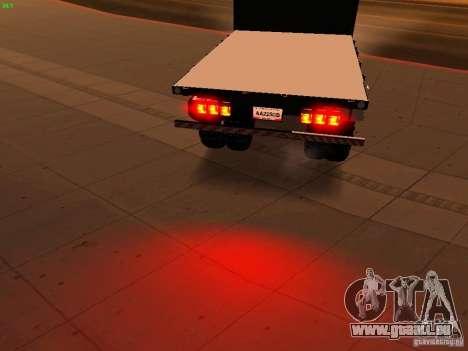 Chevrolet Silverado HD 3500 2012 pour GTA San Andreas vue de dessous
