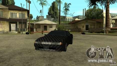 Elegy Carbon Style V 1.00 pour GTA San Andreas