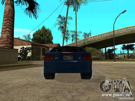 Ford Mustang Cobra R Tuneable für GTA San Andreas zurück linke Ansicht