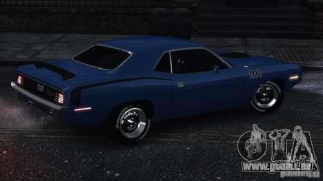 Plymouth Hemi Cuda 1971 für GTA 4 hinten links Ansicht