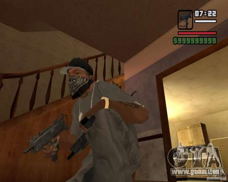 MAC-10 für GTA San Andreas zweiten Screenshot