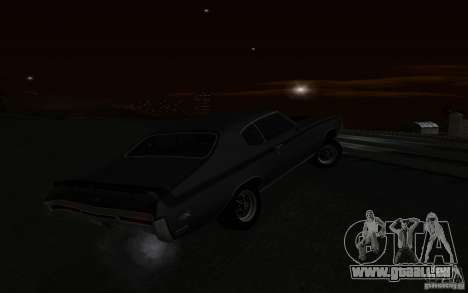 Buick GSX 1970 für GTA San Andreas obere Ansicht
