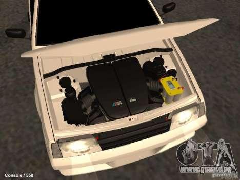VAZ 2109 Opera Turbo für GTA San Andreas obere Ansicht