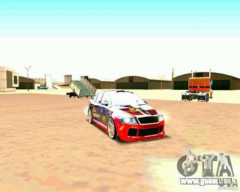 Skoda Octavia III Tuning für GTA San Andreas linke Ansicht