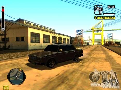 VAZ-2107 für GTA San Andreas linke Ansicht