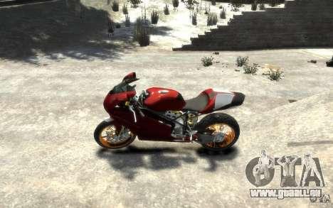Ducati 999R für GTA 4 linke Ansicht